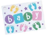 Baby Steps Card