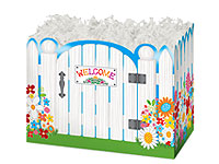 Picket Fence Welcome Box